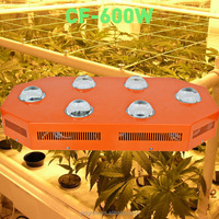Green House Hydroponic System 600w Led Grow Lighting Full Spectrum for Medical Plants Veg Flower