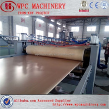 WPC construction formworks/building templates production line