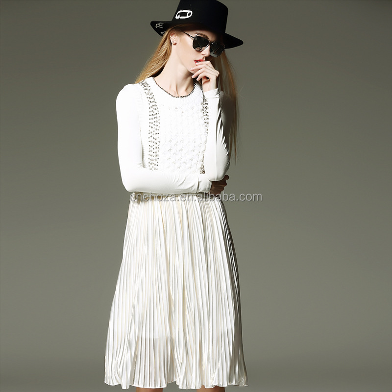 Z60441Y European Market Ladies High Quality New Design Women Two Pieces Dresses