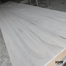 Faux cultured marble stone solid surface sheet