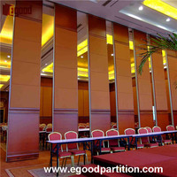 High quality movable sliding partition wall in school office room classroom