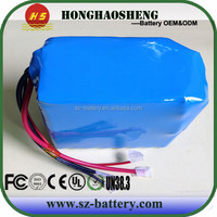 factory offer 48volt electric scooter battery pack rechargeable 18650 48v 40ah lithium battery
