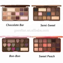 Too Peach Eye Shadow Faced Heart Chocolate Cosmetics Makeup Eyeshadow Iron Palette