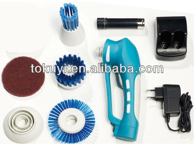 Best battery operated power scrubber, rotating cleaning brush, Electric Power Scrubber