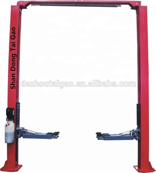 Torin bigred hydraulic portable 2 post car lift and car lift kit used for garage
