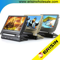 "Erisin ES398 9"" Car Pillow headrest Monitor DVD/CD/MP3/Games Player"