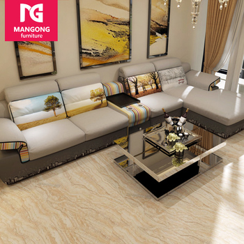 modern fabric sofa set. Wholesale Modern Fabric L Shape Sofa Set Made In China