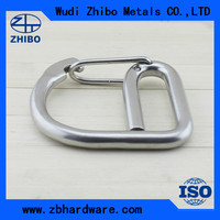 Alibaba express Metal materail 6*60 spring round arc hook for belt