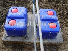 thermo insulated thermal Double Floating Ball plastic cow/cattle water/drinking trough/tank with high quality