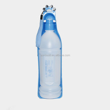 350ml wholesales Pet Travel Water Bowl Bottle Dispenser Feeder for Dog Cat Drinking Fountain Portable