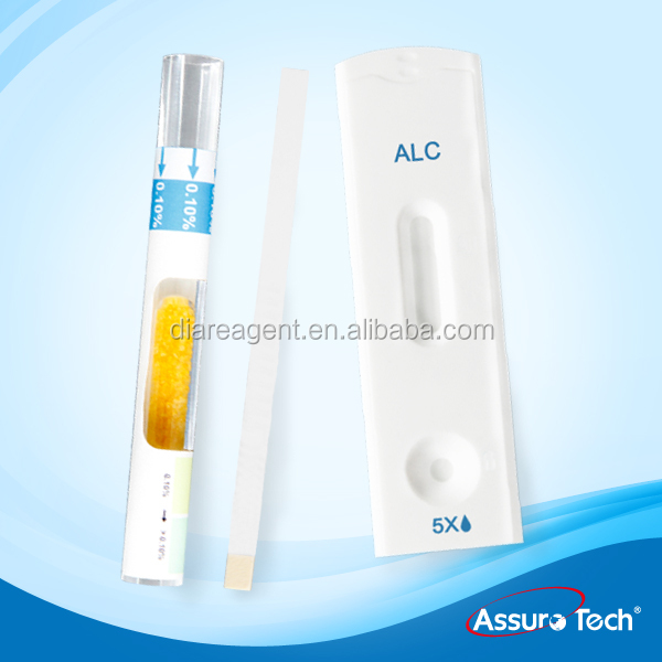 One Step Alcohol Urine Rapid Test Strip