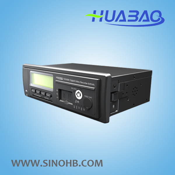 4ch sd card mobile dvr, support 3G, GPS and online realtime video monitoring