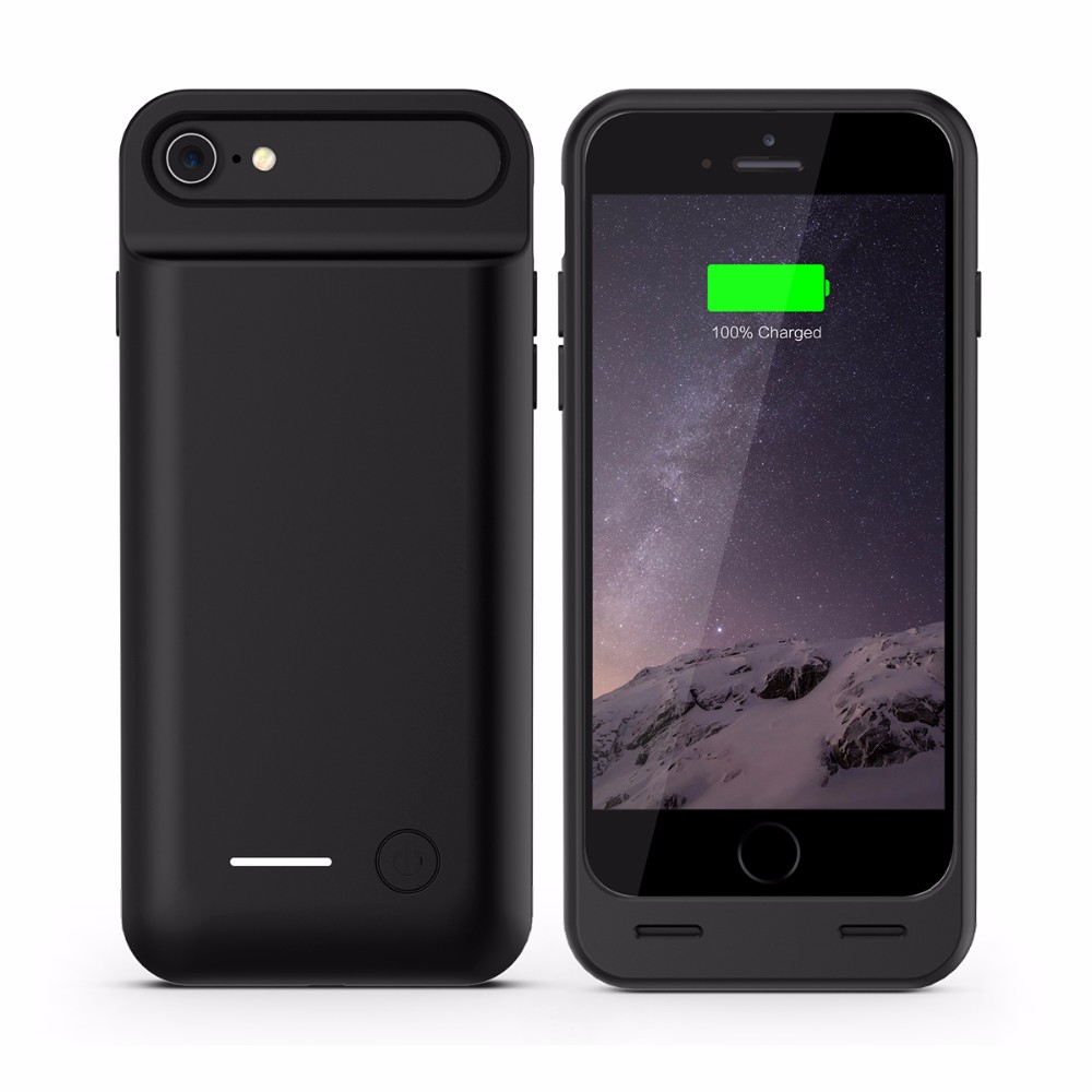 2017 Amazon best seller For iPhone 7 Battery Back Cover with original connectors For iPhone 7 MFi Battery Cases