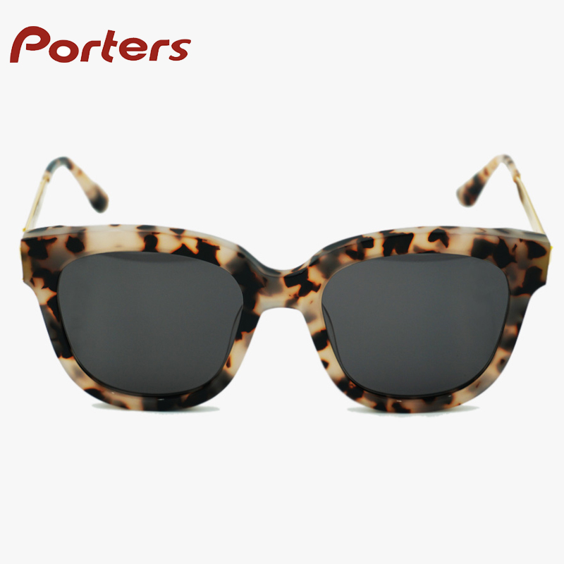 Hot sale alloy shades eyewear women high quality custom sunglasses