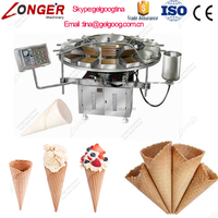 Top Quality Ice Cream Cone Making Machine Of Low Consumption