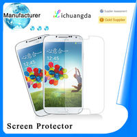 Newest premium 2.5D tempered glass screen protector for samsung s4 i9500 mobile phone accessory paypal accepted (OEM / ODM)