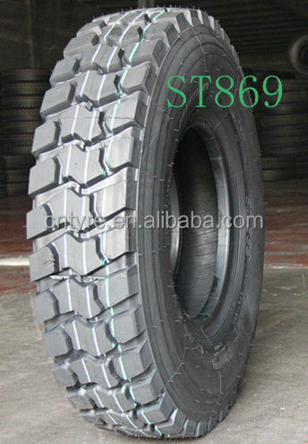 China wholesale heavy duty radial monster truck tire 66x43.00-25