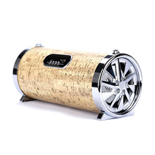 Factory supply 20W 1200mAh mobile speaker, wood bluetooth karaoke speaker sound box
