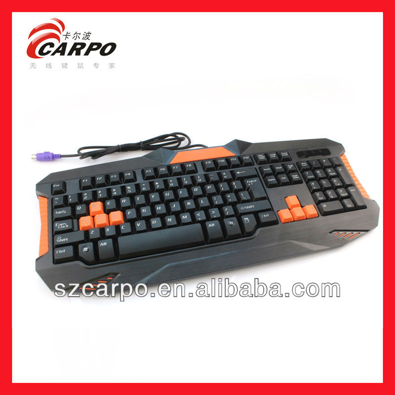 Child play spanish gaming keyboard for mac membrane keyboard T913