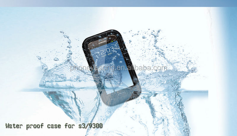 Cell Phone waterproof case/mobile phone waterproof case for Samsung Galaxy s3