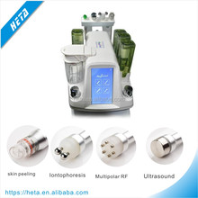 portable ultrasonic 4 in 1 jet water facial dermabrasion diamond skin peeling machine