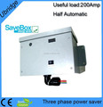 Three phase power saver /energy saver box/electric power saver with LCD,LED display