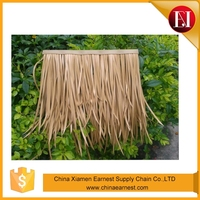 synthetic plastic thatch roof materials