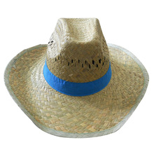 Fashion Promotional Foldable Crushable Woven Paper Mexican Straw Hats Farmers
