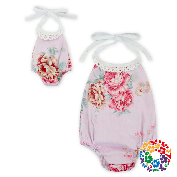 new products 2016 innovative product newborn baby clothes pom pom romper and doll clothing baby bodysuit 100% cotton