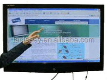 "42"" Black aluminum frame for LCD TV or PC infrared touch screen frame."