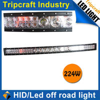 "China Factory!!! 41.5"" 224W 19040LM LED driving work light bar,off road 4x4 accessory truck 4wd SUV,UTV,240w LED light bar"