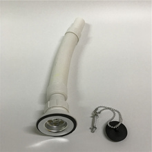 Sink Drain Pipe Plastic Flexible Drain Hose