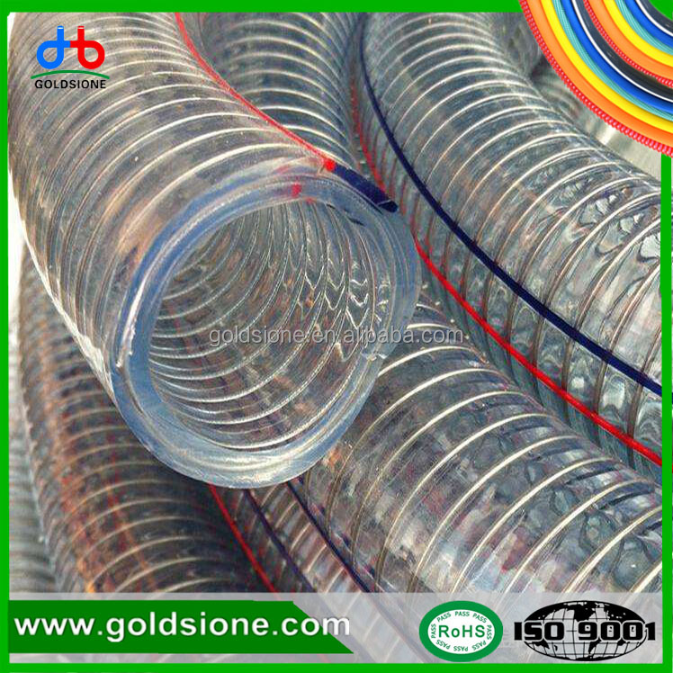 pvc inexpensive flexible steel wire water hose pipe used for home
