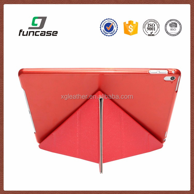 "universal tablet case trifold tablet case for ipad pro and silicone case for 8"" tablet"