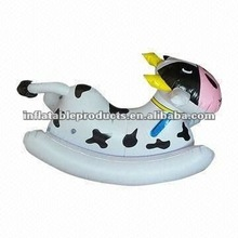 inflatable cow rider