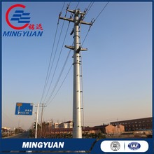 110kv electrical transmission galvanized steel power pole
