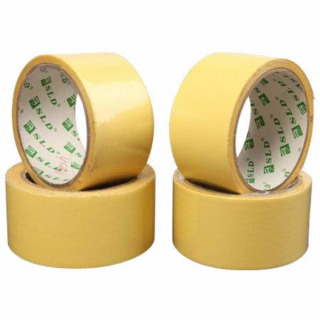 Alibaba Wholesale High Quality 230mic Acrylic Sol Adhesive Double Faced Mesh Tape With White Or Yellow Siliconized Paper Liner
