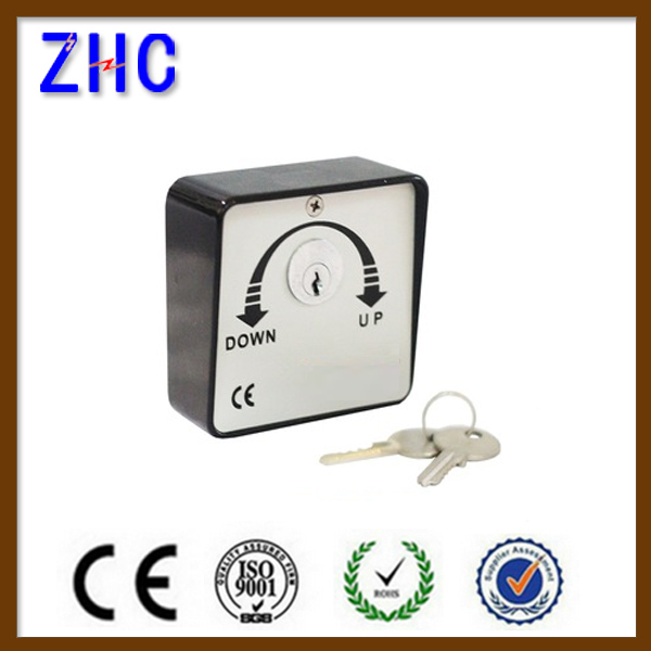 High Security Aluminum Casting Roller shutter key switch , Automatic Door Lock