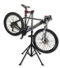 1. Pro mechanic adjustable bike repair stand w/ telescopic arm cycle bicycle rack