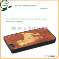 2014 new Factory price wood/bamboo cases for iphone/for iphone 4 real bamboo wood mobile phone case cover accessories