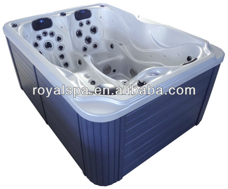2014 HOT SALE Family Personal Sex Massage Baths Mini hot tub outdoor spa with skirt