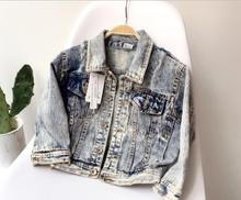 2-8 years 2017 New Wholesale Autumn Cotton Full Sleeves Denim Holes Kids Boys Girls Jackets