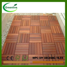 Swimming pool wood deck tiles cheap