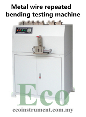 Metal wire repeated bending testing machine