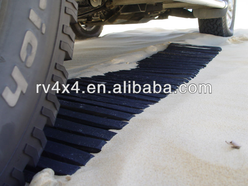 4WD rubber sand track for Vehicles