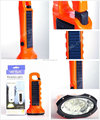 rechargeable high power camping solar energy torch light