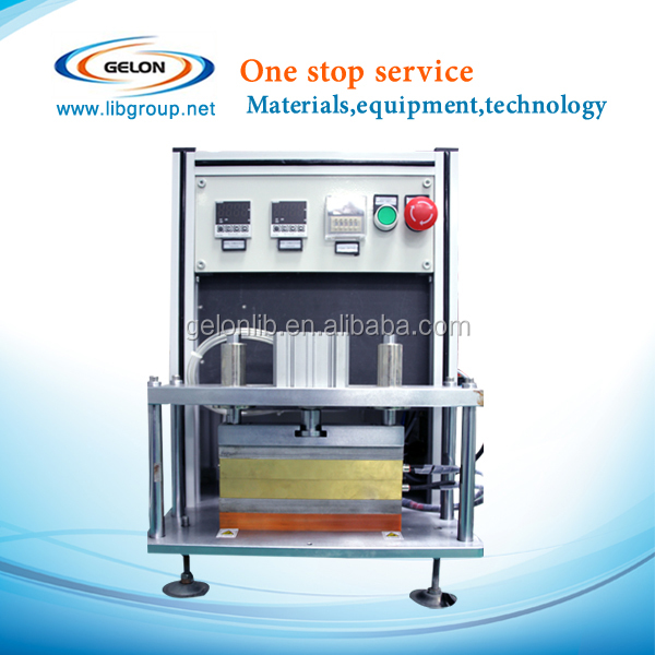 pouch cell battery hot sealing machine heating sealing machine for battery al laminated film sealing