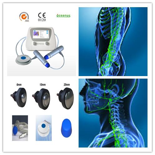shockwave therapy for shoulder pain/physical therapy equipment/Rehabilitation equipment