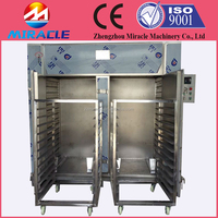 Hot air circle heating almonds drying machine/electric drying oven for peanuts, apple and other fruits