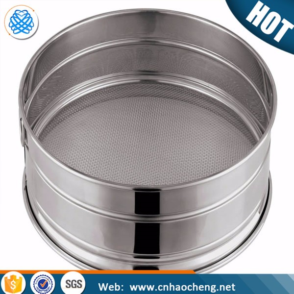 Hot sales fine ASTM stainless steel woven wire mesh testing sieve